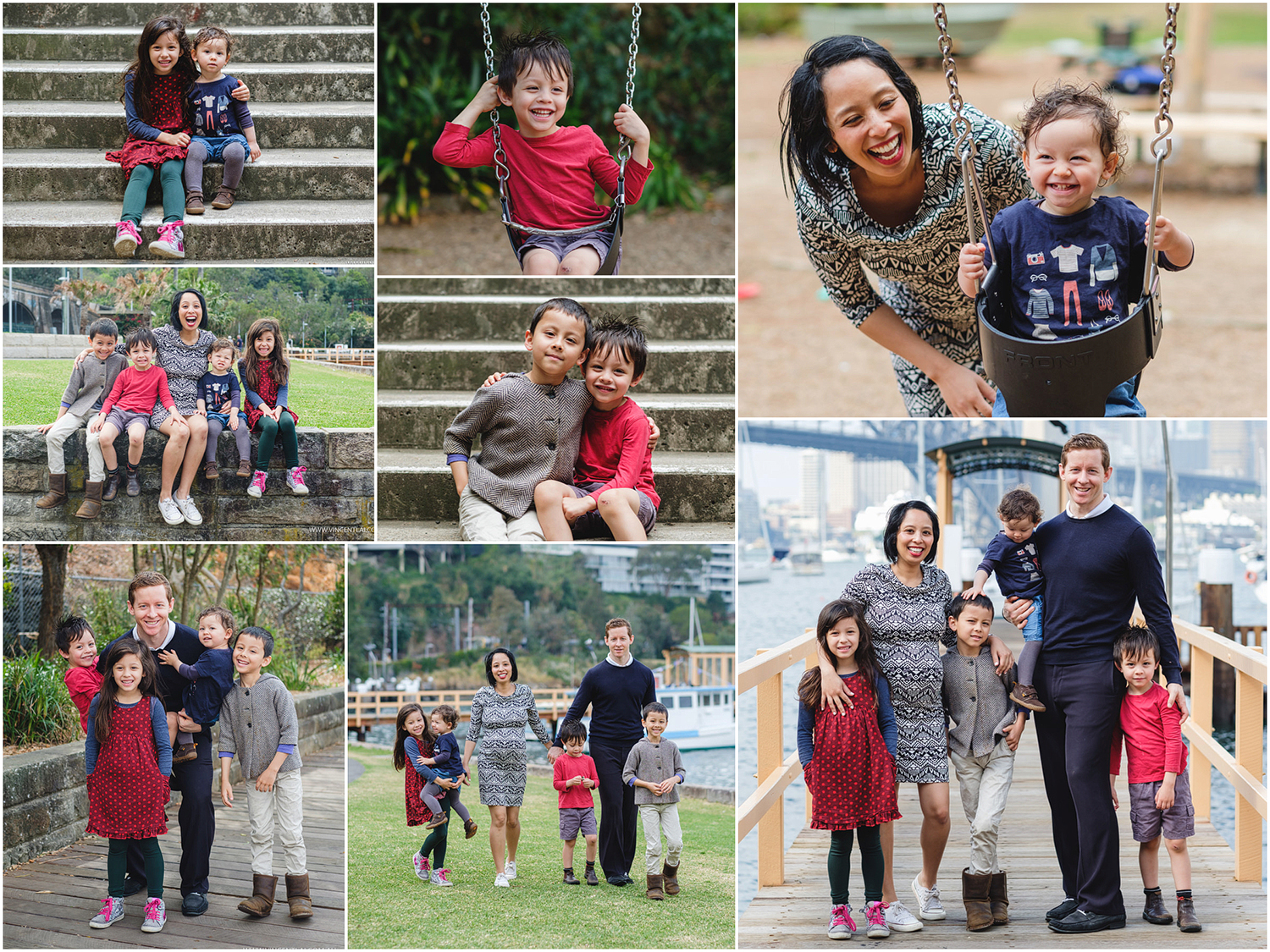 Lavender Bay North Sydney Family Photography