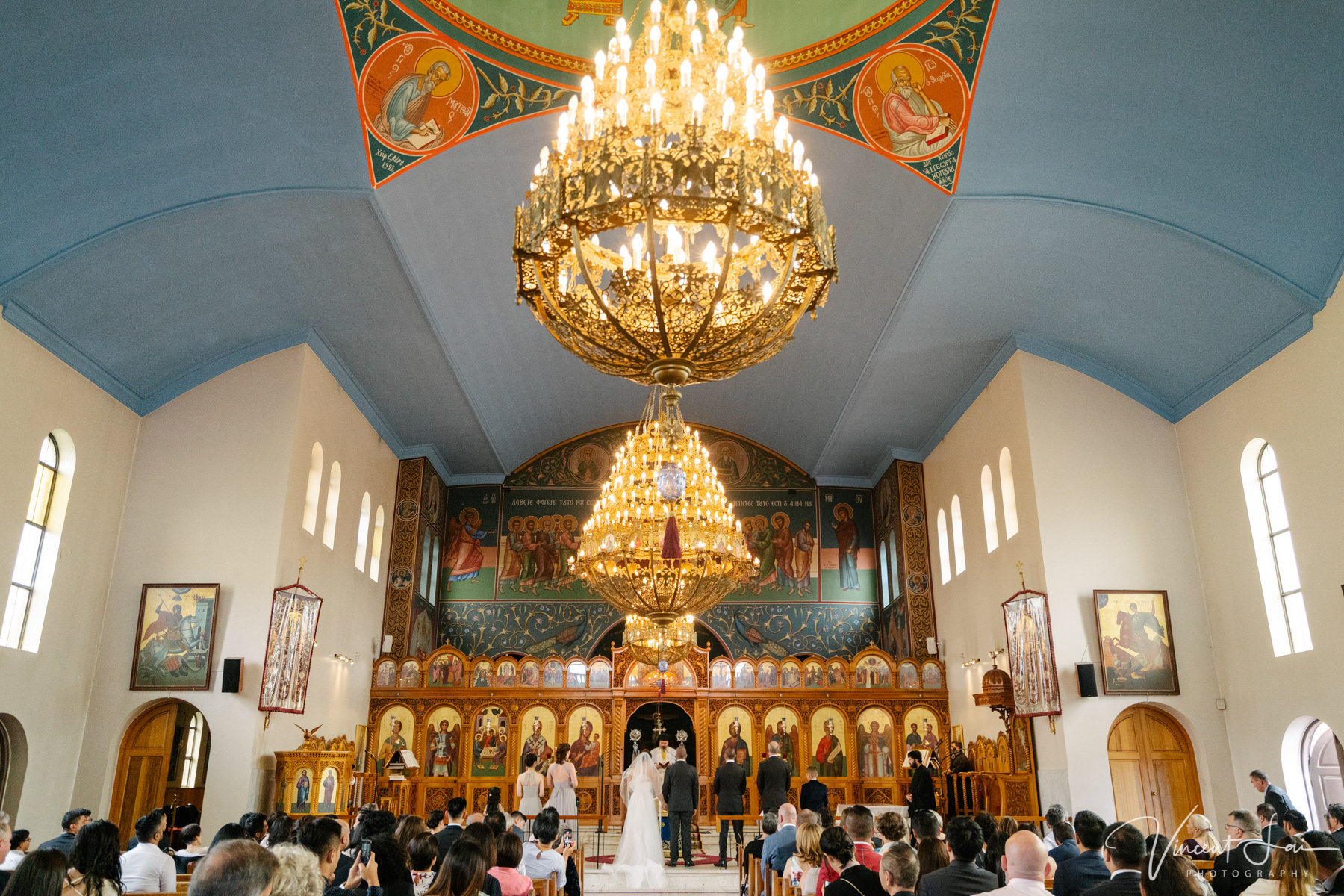 Wedding at St Nicholas Greek Orthodox Church Wedding