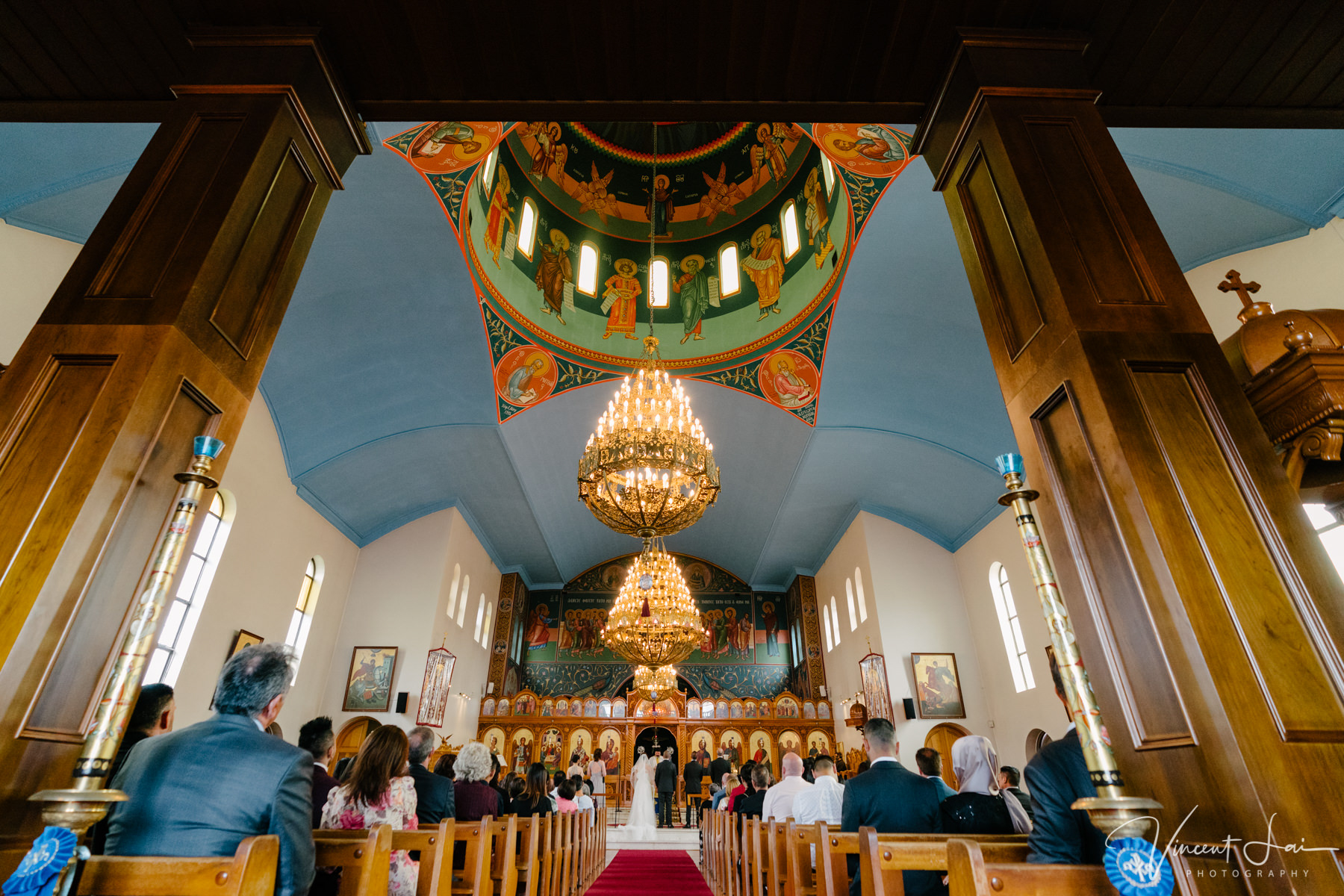 St Nicholas Greek Orthodox Church Wedding Photographer Vincent Lai