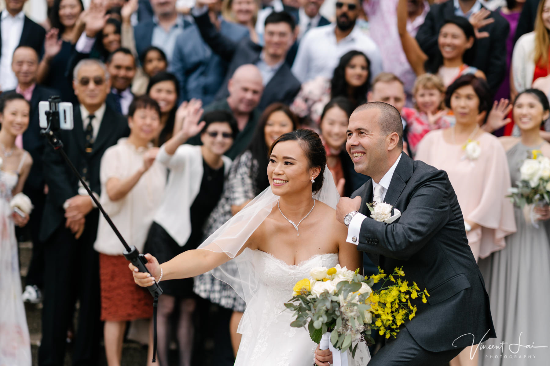 Wedding at St Nicholas Greek Orthodox Church - Photographer Vincent Lai