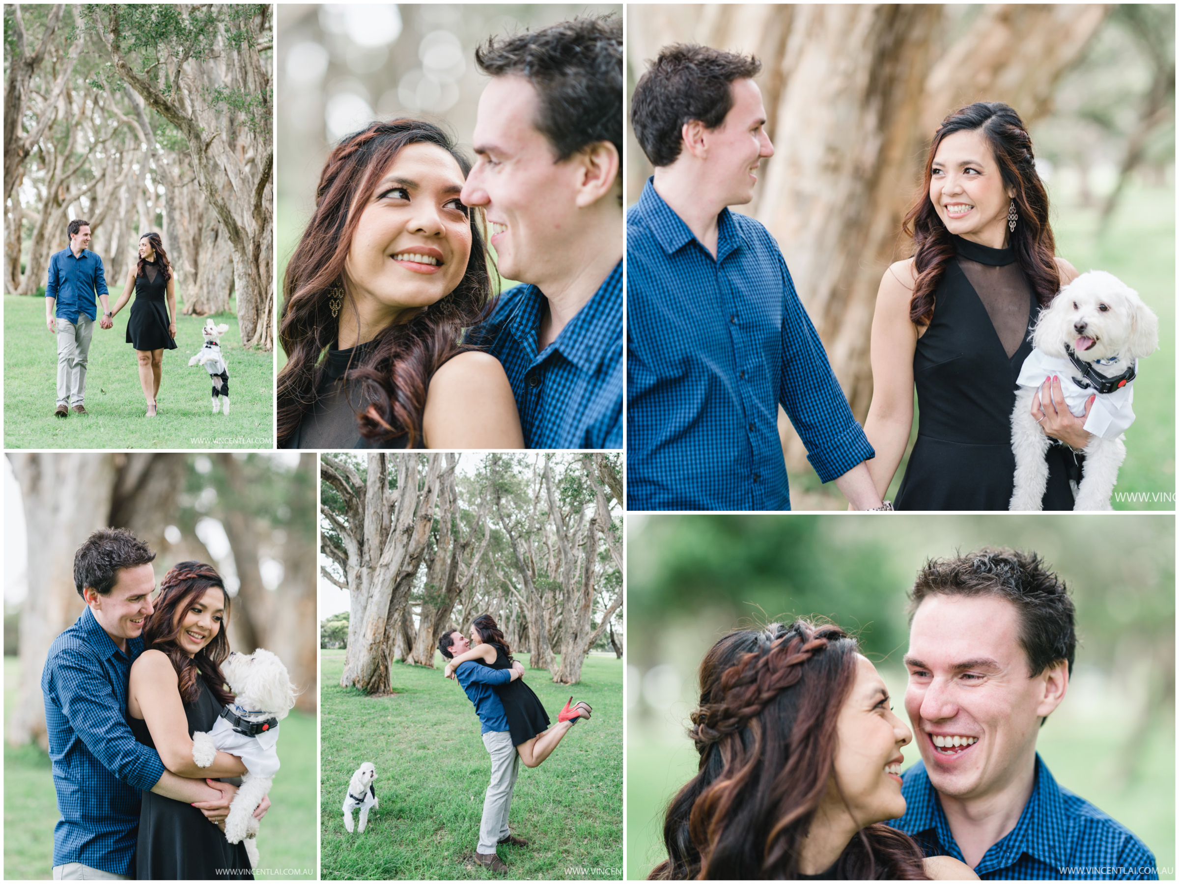 Engagement Session Photos at Centennial Parkland
