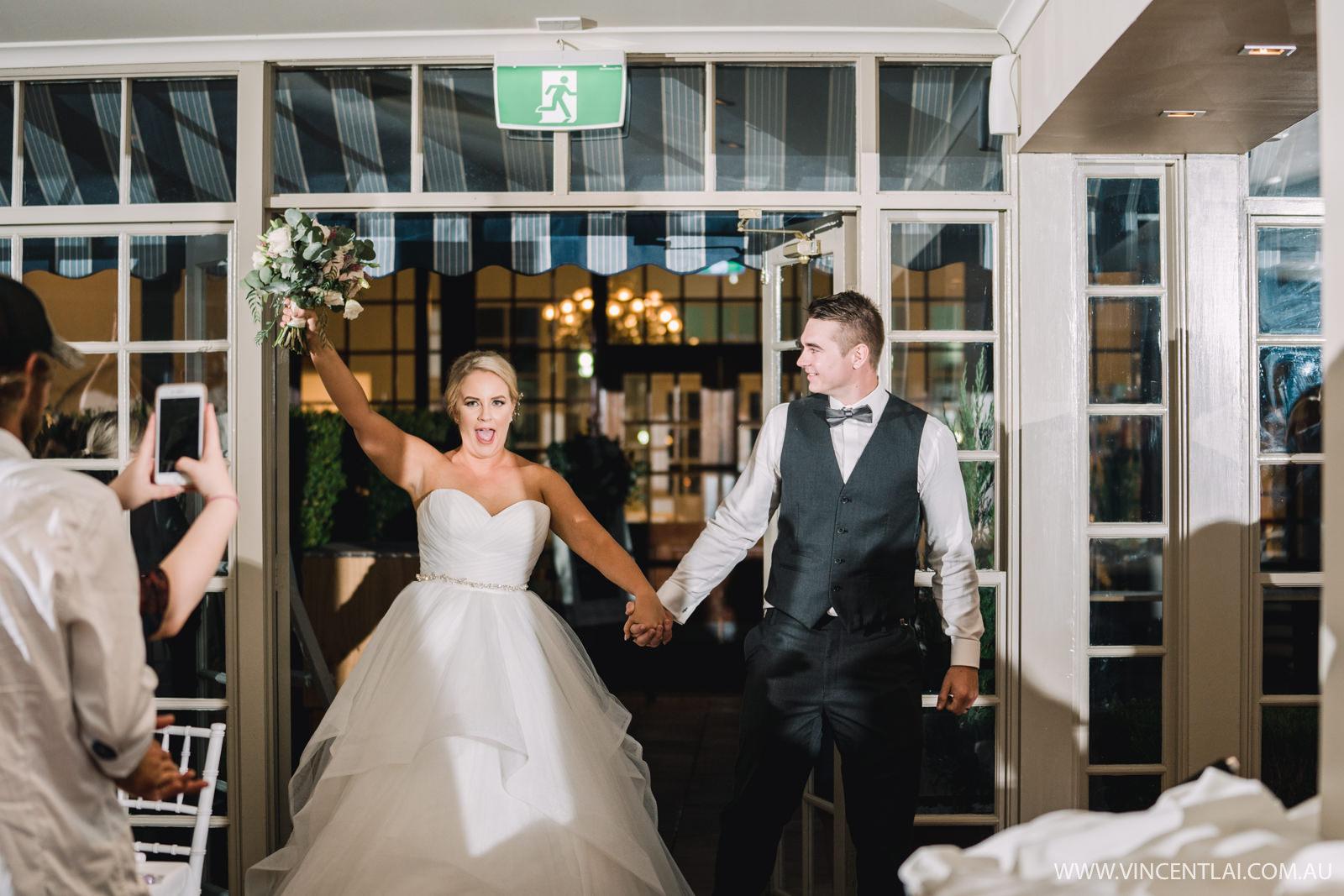 Wedding Reception at Crowne Plaza Hawkesbury Valley