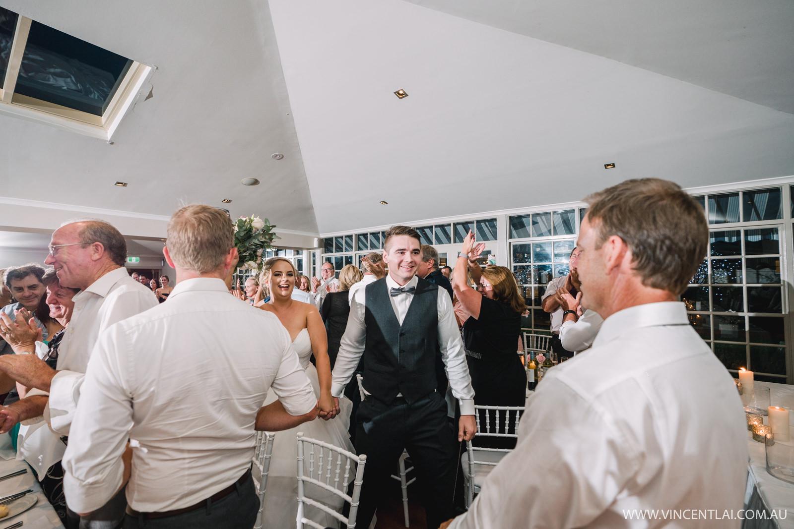 Crowne Plaza Hawkesbury Valley Gazebo Wedding Reception