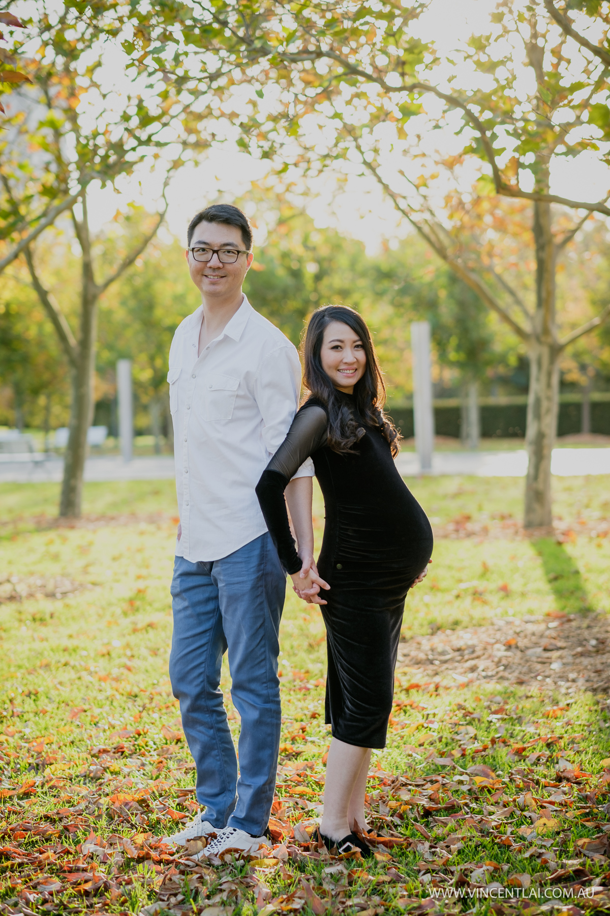 Autumn Maternity Photography Session