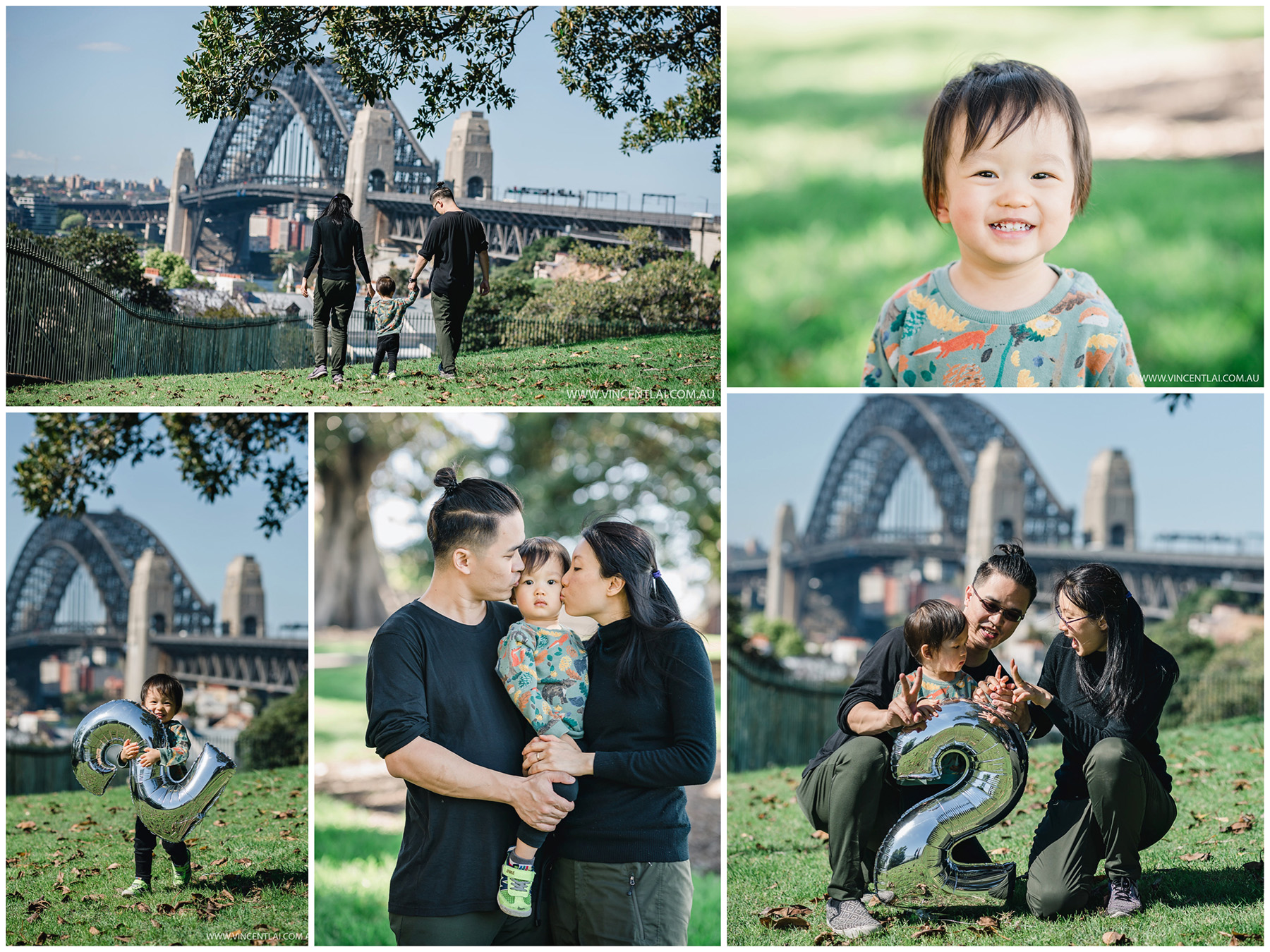 Family Photo Session at Observatory Hill Park Sydney