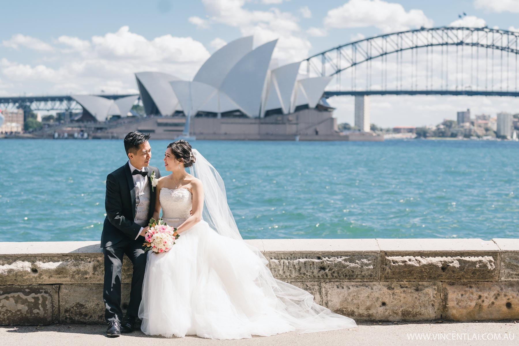 Royal Botanic Garden Wedding Photo Sydney