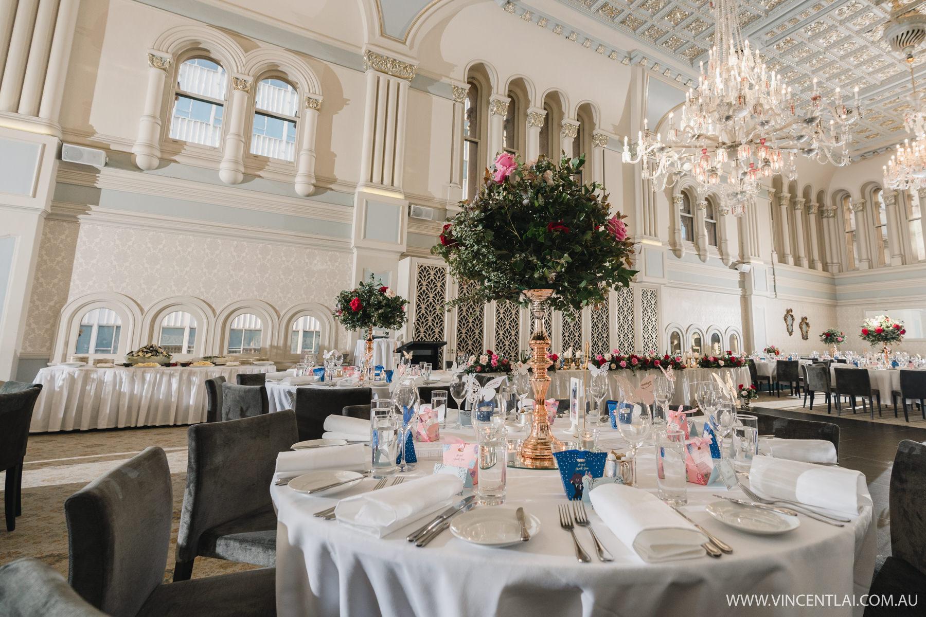 The Tea Room QVB Wedding Reception