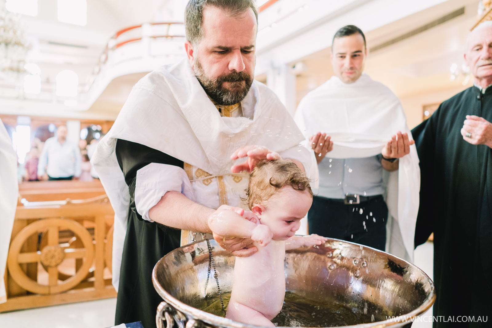 All Saints Greek Orthodox Church Christening