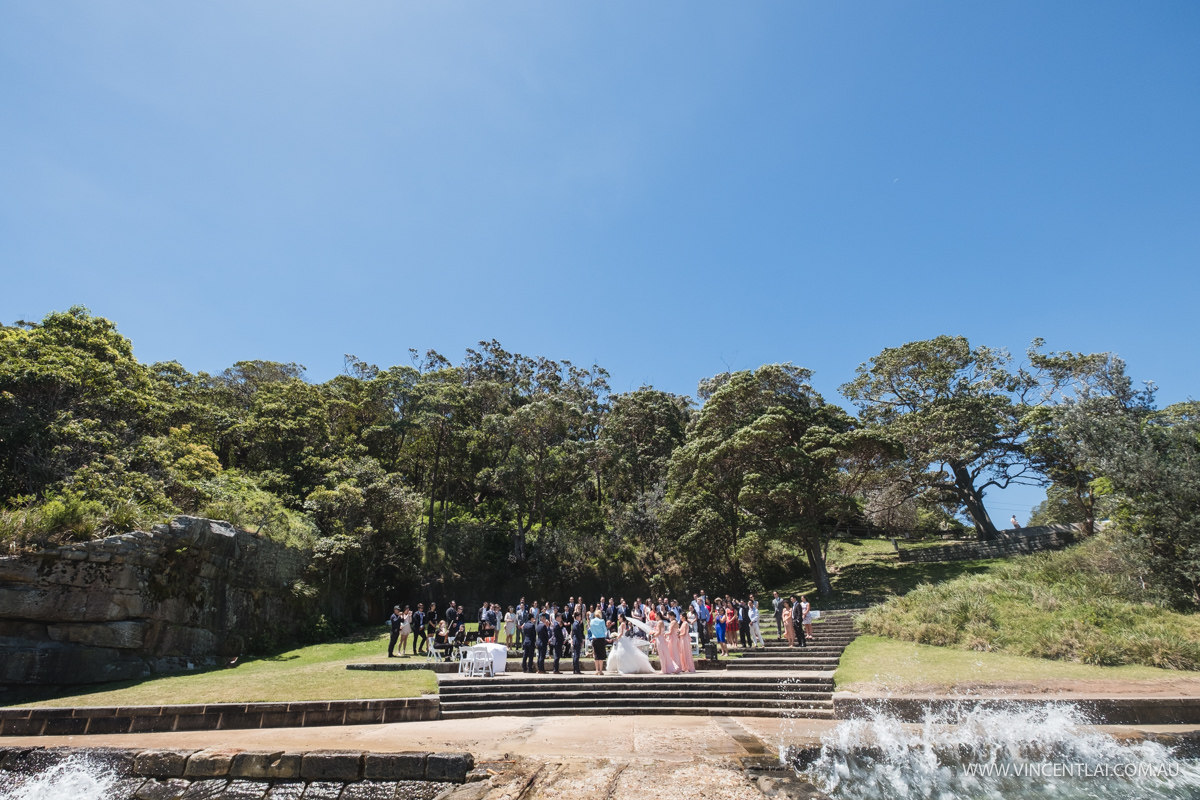 Bradleys Head Amphitheatre Wedding Ceremony