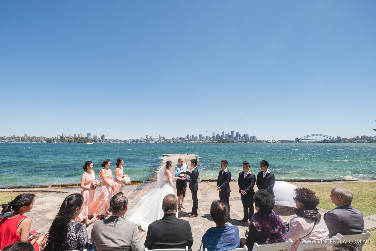 Bradleys Head Amphitheatre Wedding