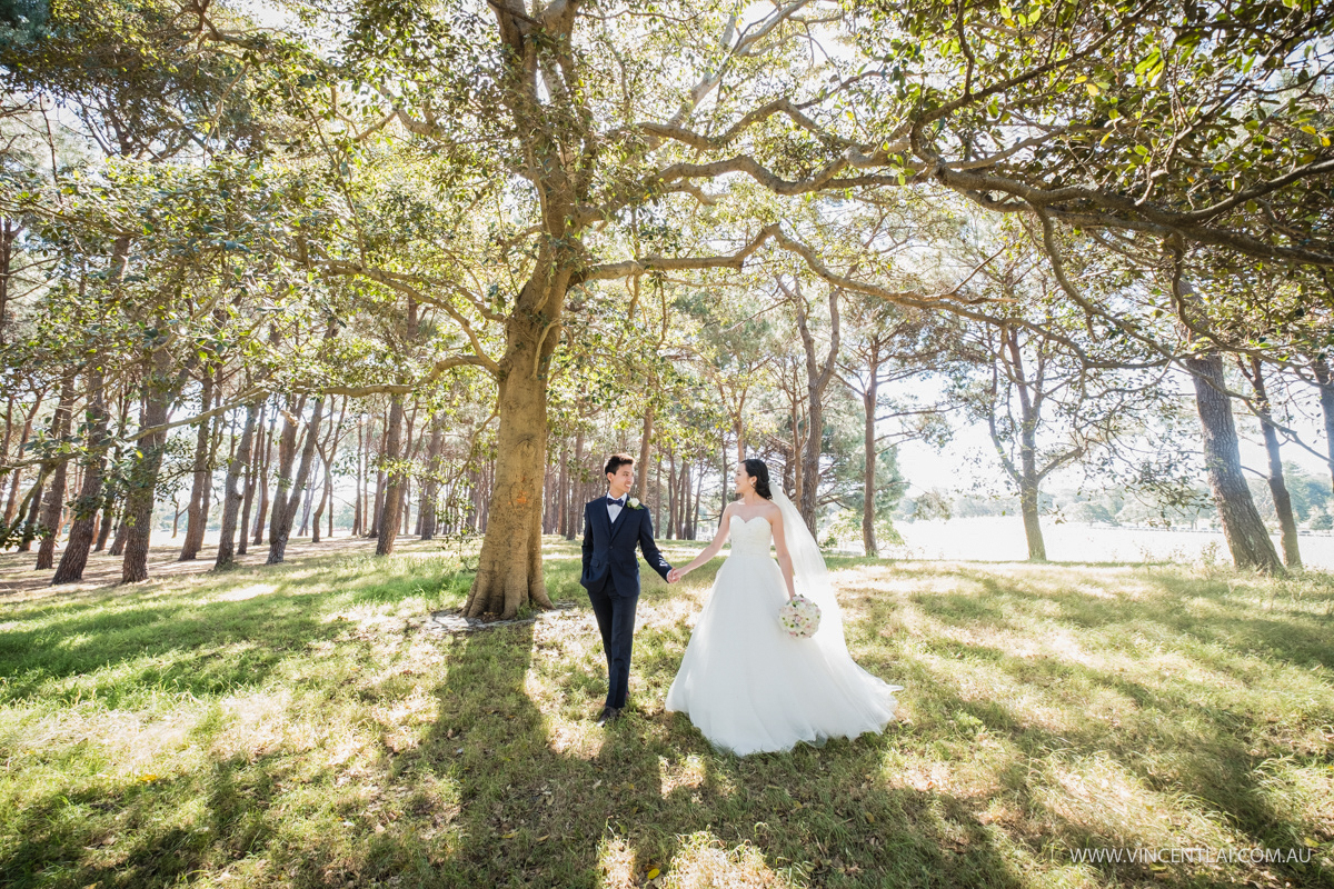 Centennial Park Wedding Photo