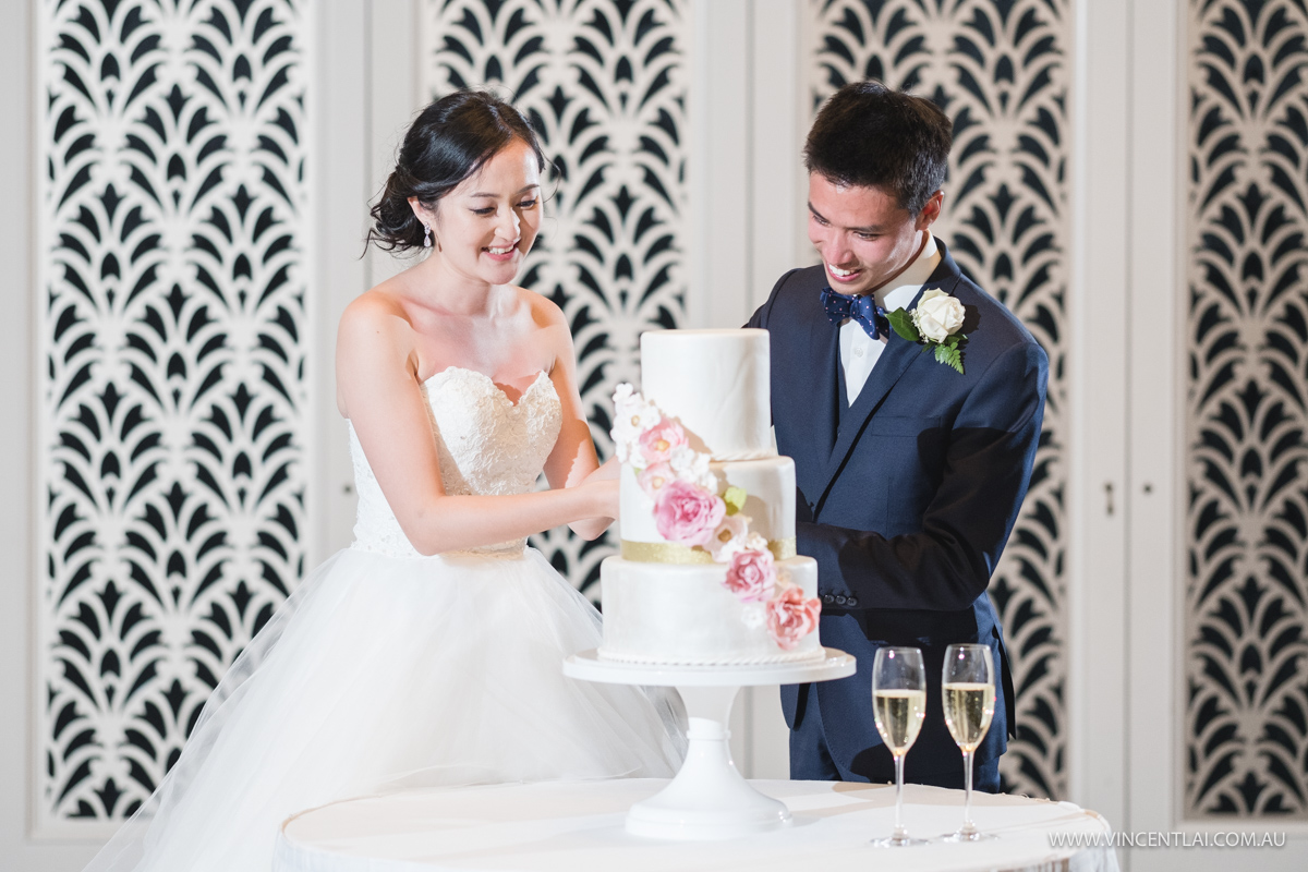 The Tea Room QVB Wedding