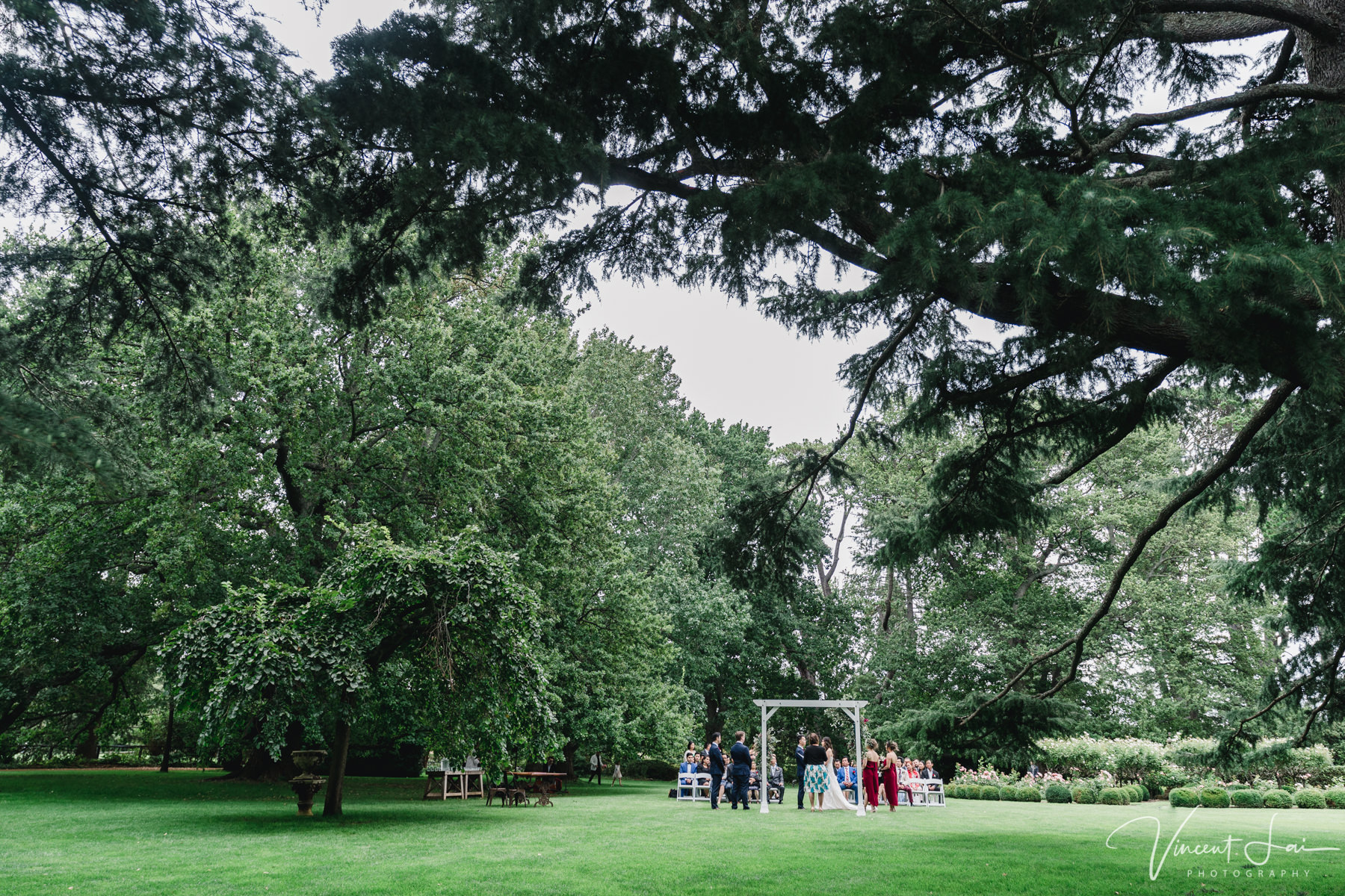 Homestead Lawn Bendooley Estate Wedding