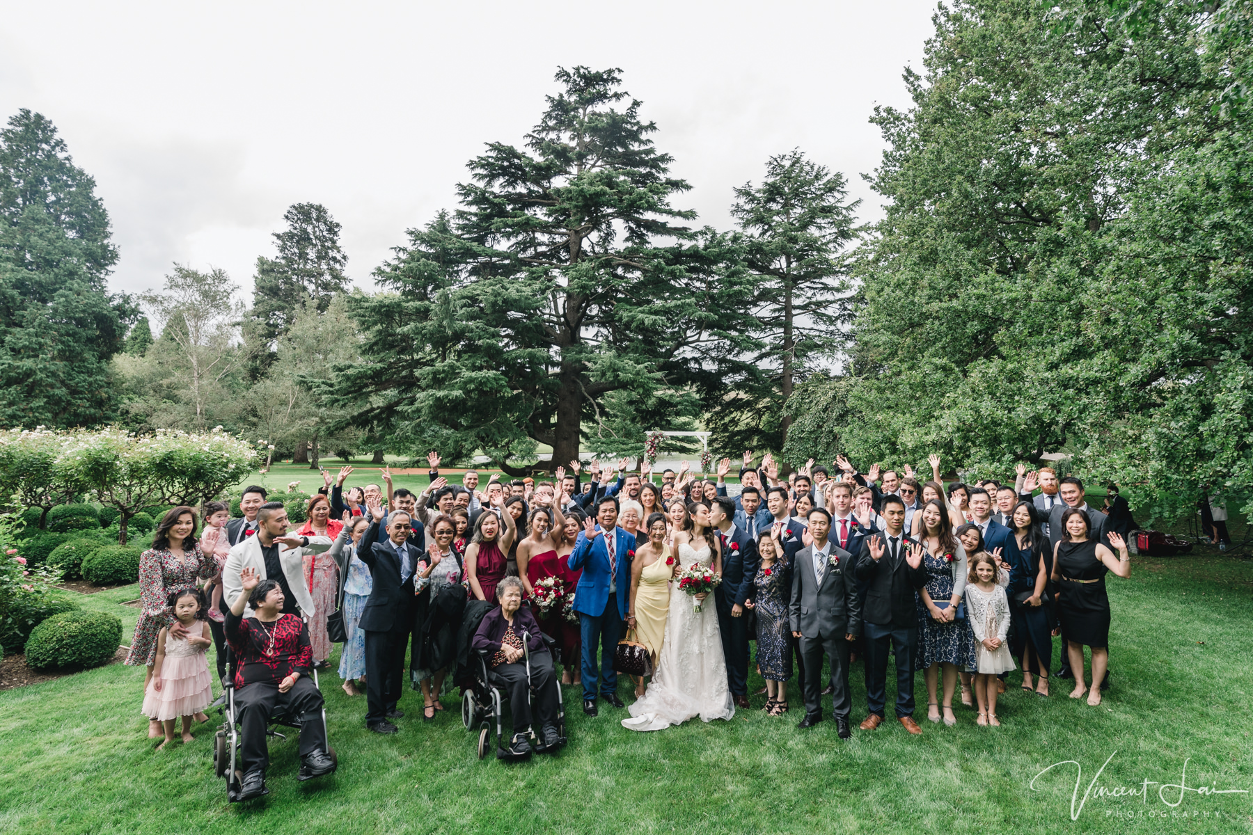 Real Wedding Bendooley Estate Vincent Lai Photographer