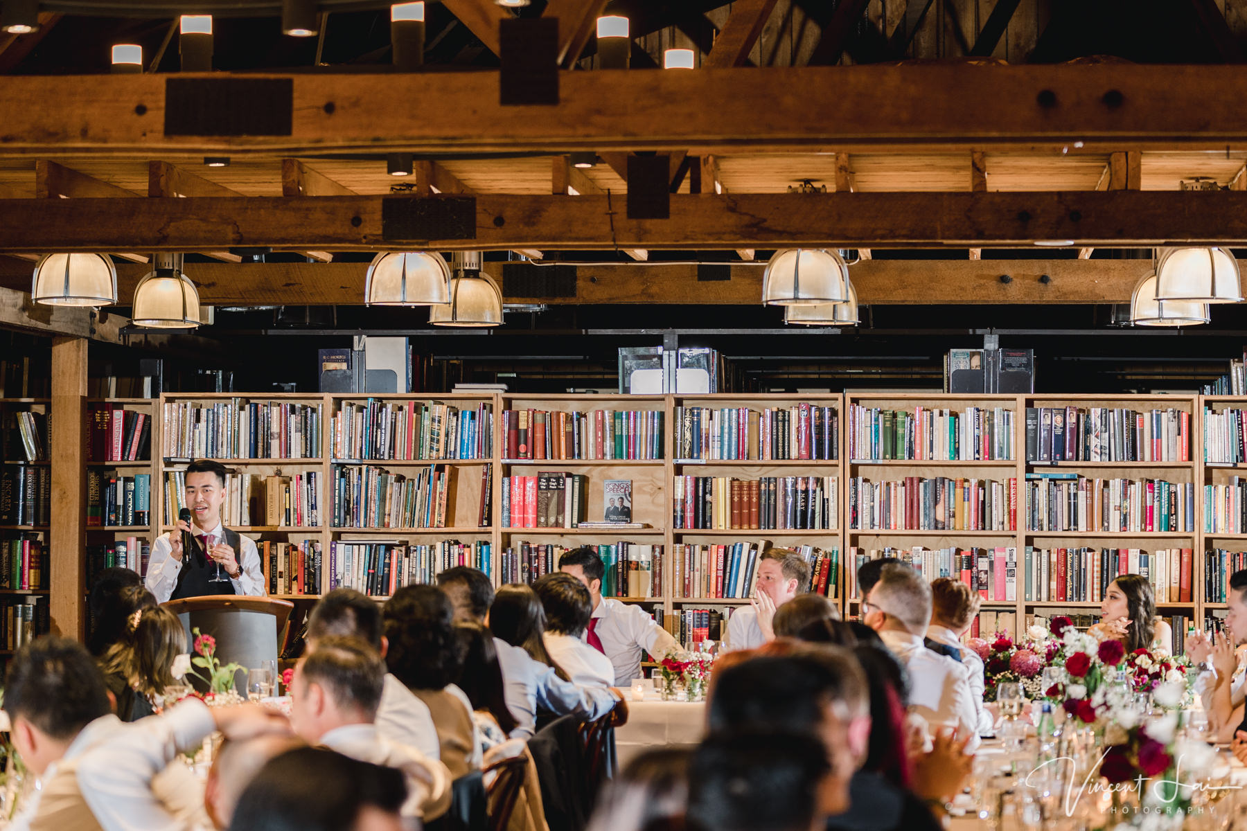 Berkelouw Book Barn Bendooley Estate Wedding Reception