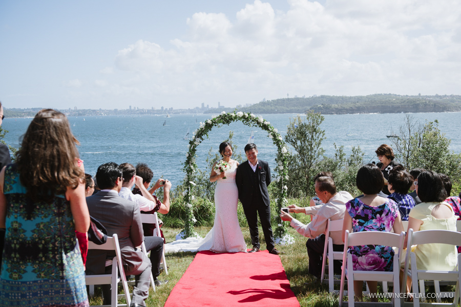 Ceremony First Reception: Manly Q Station Wedding Ceremony And Reception