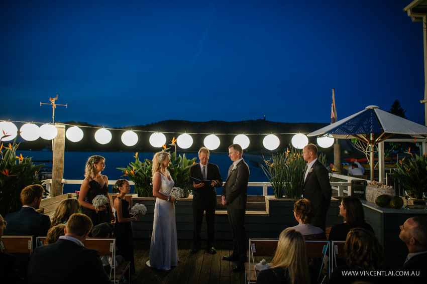 Sydney Wedding at The Boathouse Palm Beach