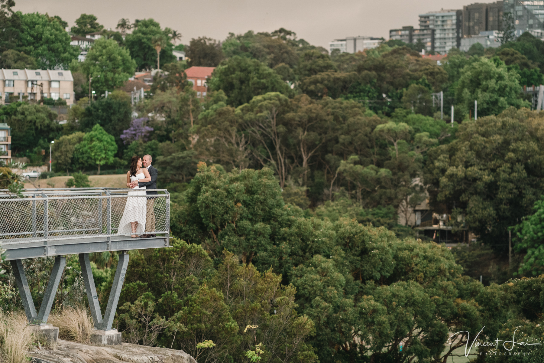 Sydney Prewedding Photos During a Storm