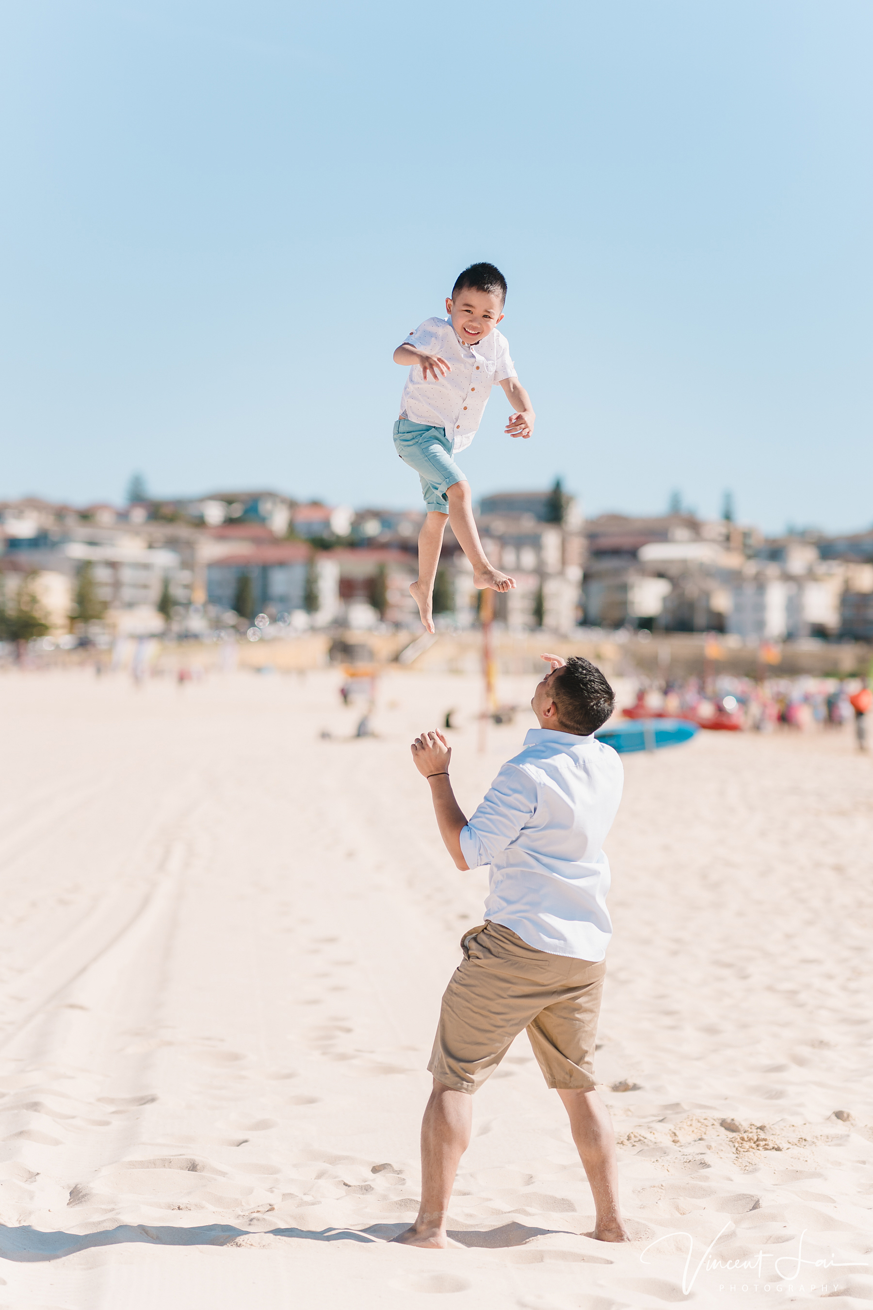 Family Photo Session at Maroubra Beach