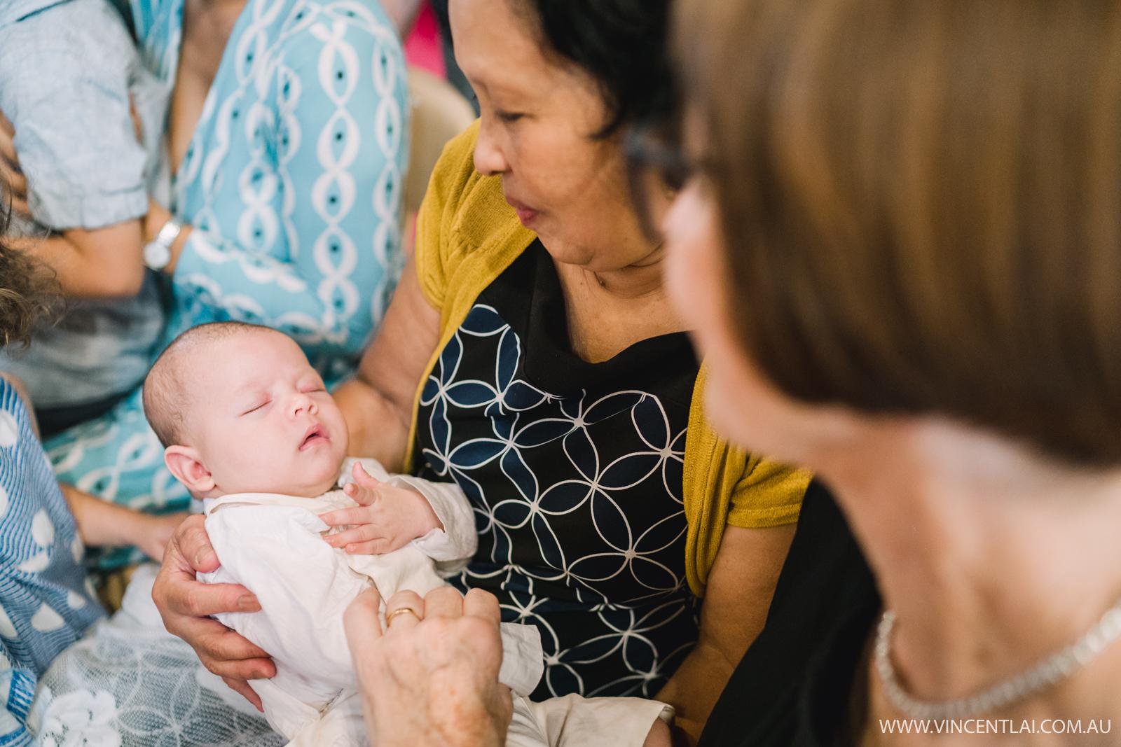 Baptism at St Francis Xavier Lavender Bay