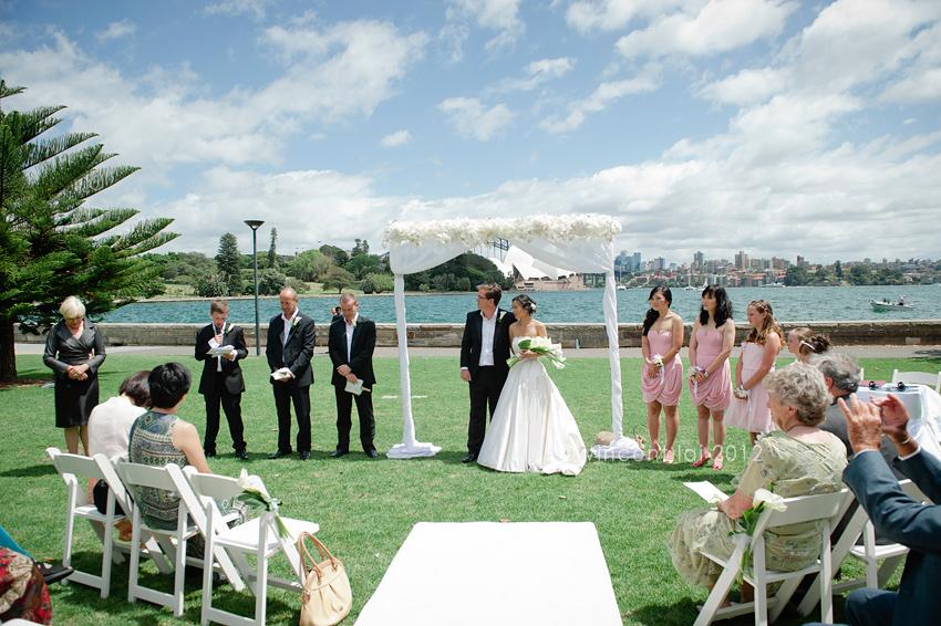 Royal Botanic Gardens Lawn 34 Wedding