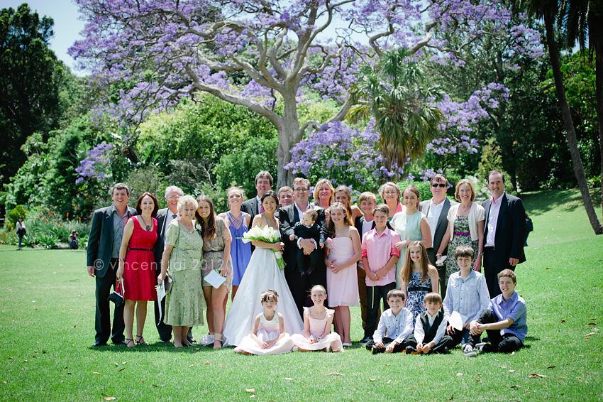 royal botanic gardens lawn 34 wedding botanic gardens