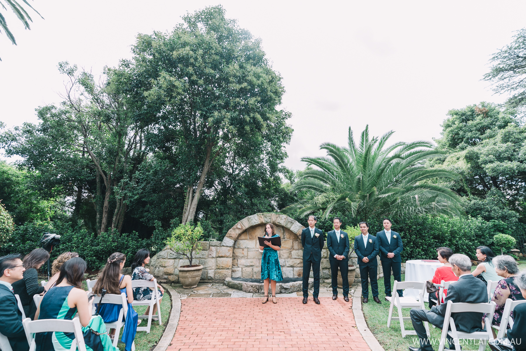 Enchanted Garden Wedding Ceremony and Reception at Oatlands House