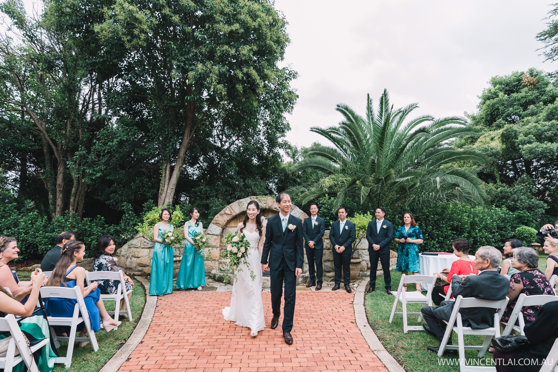 Garden Wedding Oatlands House