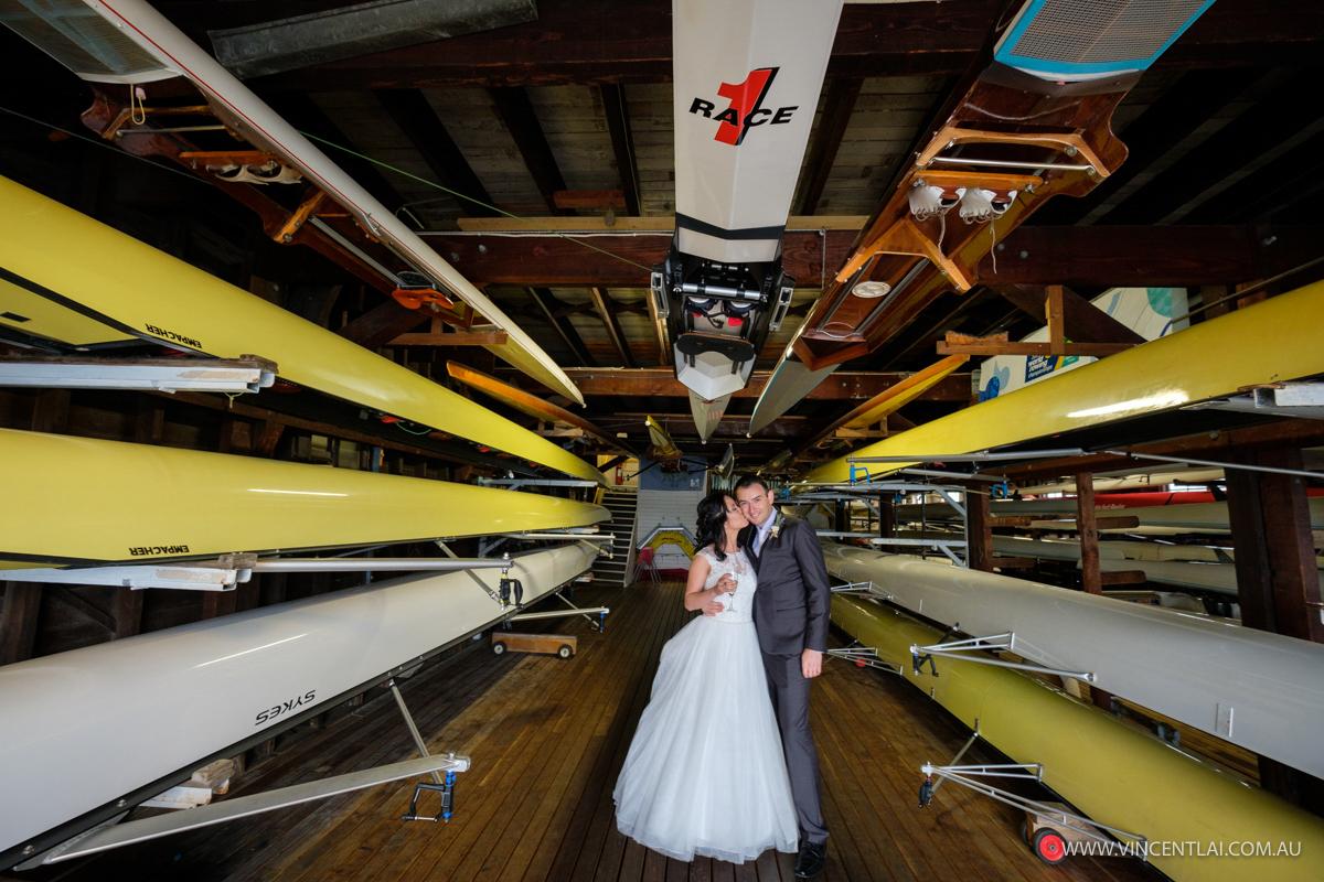 Sydney Rowing Club Wedding