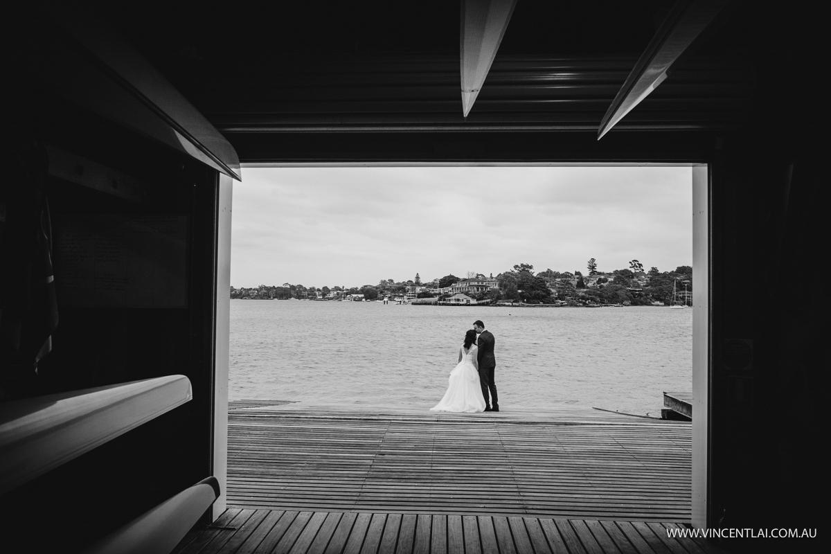 Wedding at Sydney Rowing Club