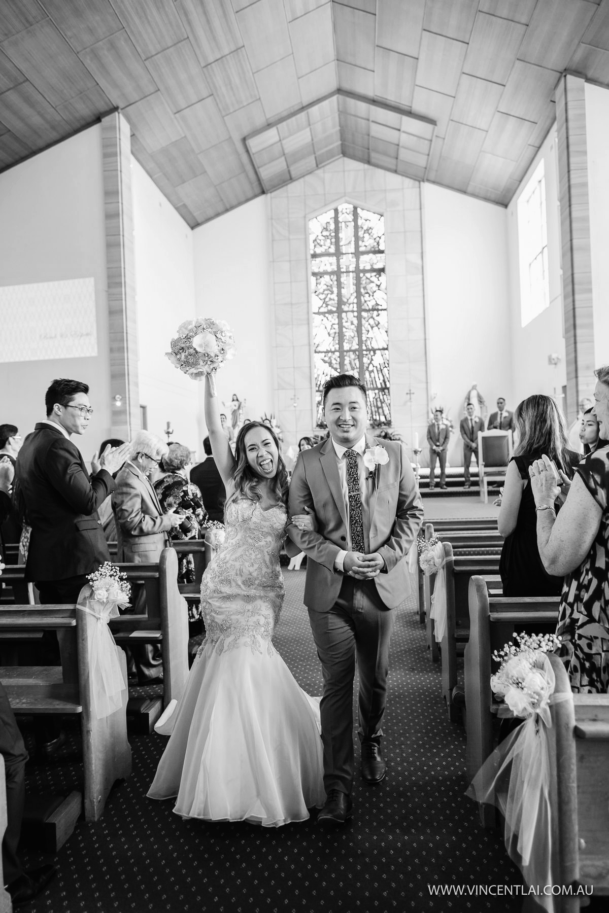 Wedding at St Jerome's Catholic Parish