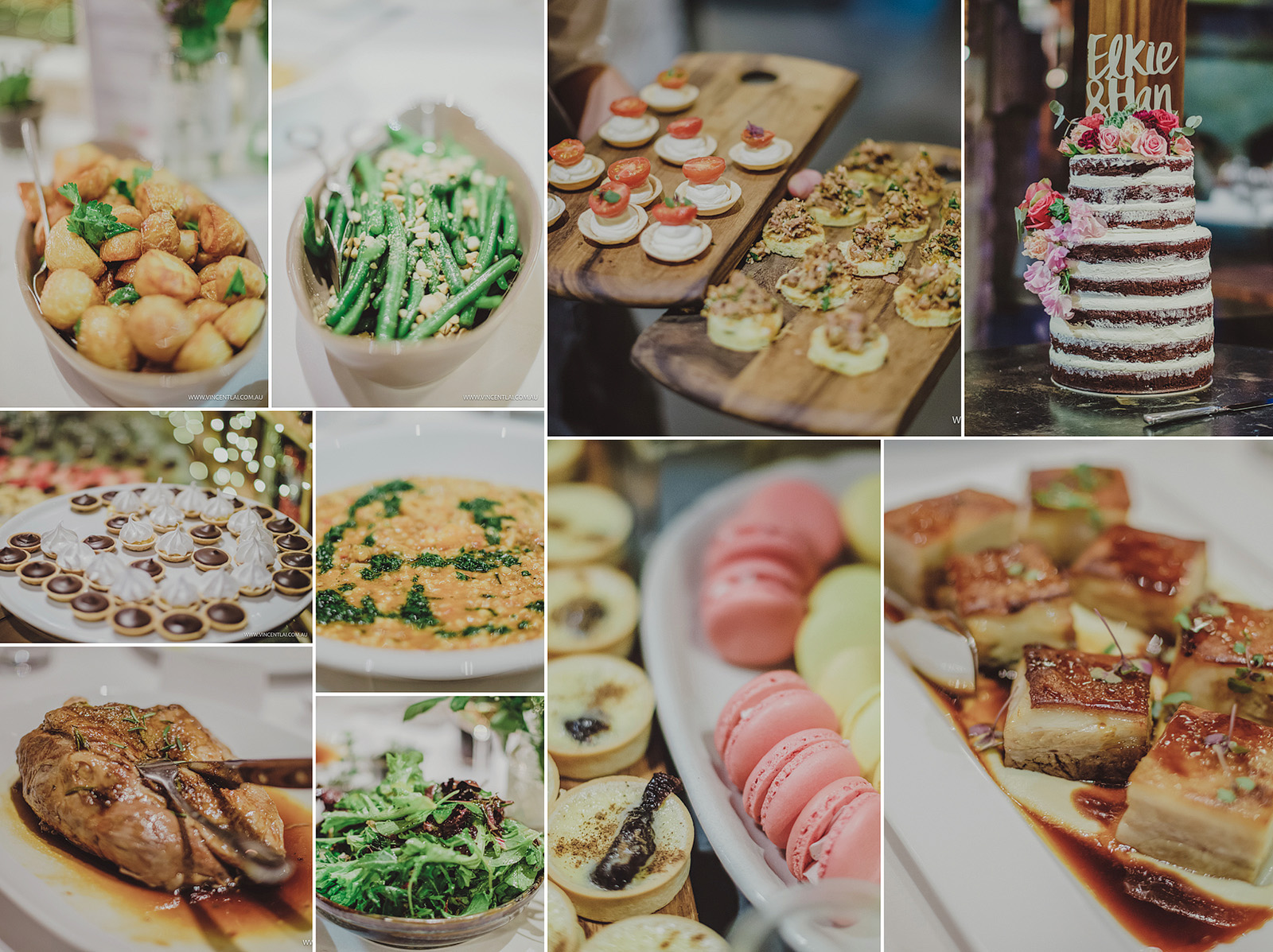 Book Barn Food Bendooley Estate Wedding