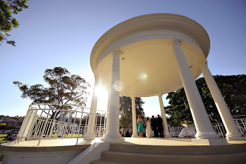 Public Dining Room Balmoral Beach | Balmoral Rotunda Civil Wedding ...