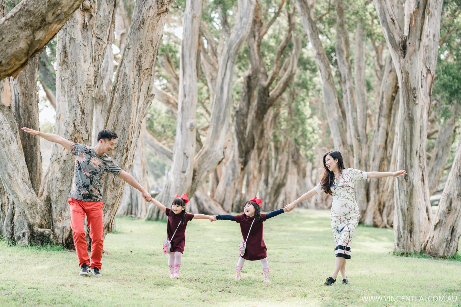 Centennial Parklands Spring Family Photography