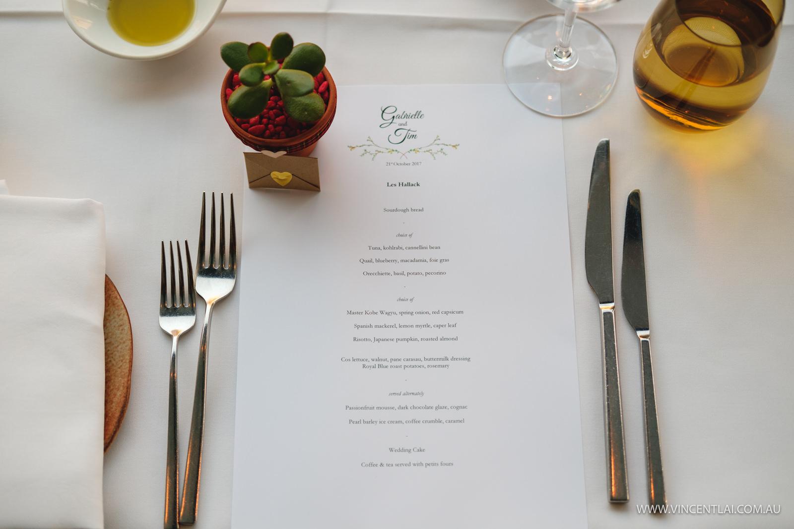 Wedding at Aqua Dining