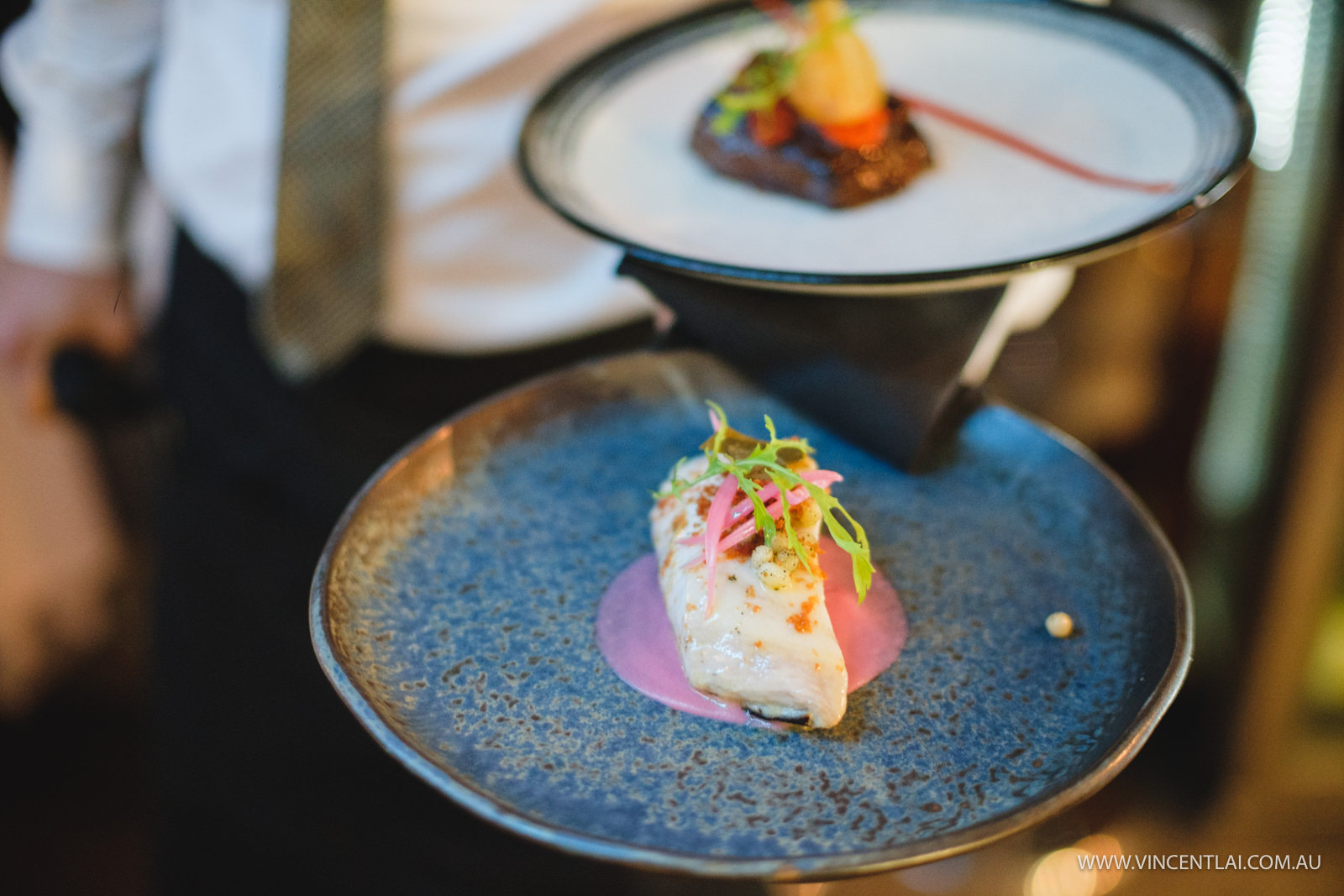 Aqua Dining Wedding Reception Food