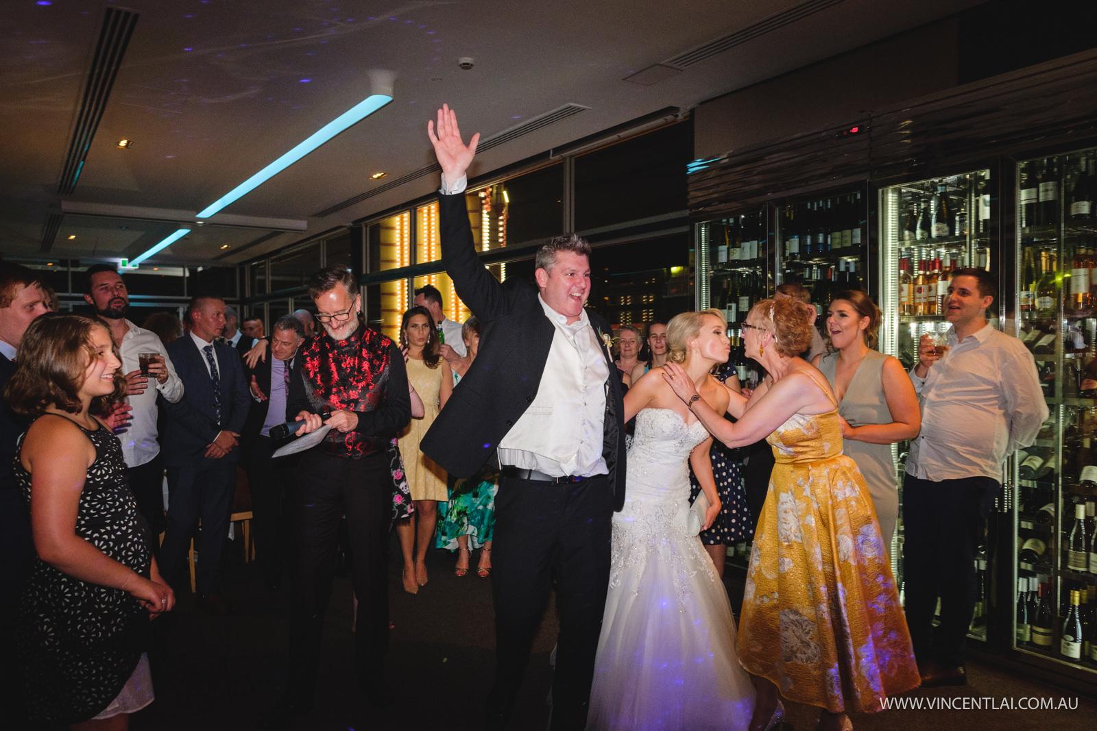 Wedding at Aqua Dining Sydney Wedding