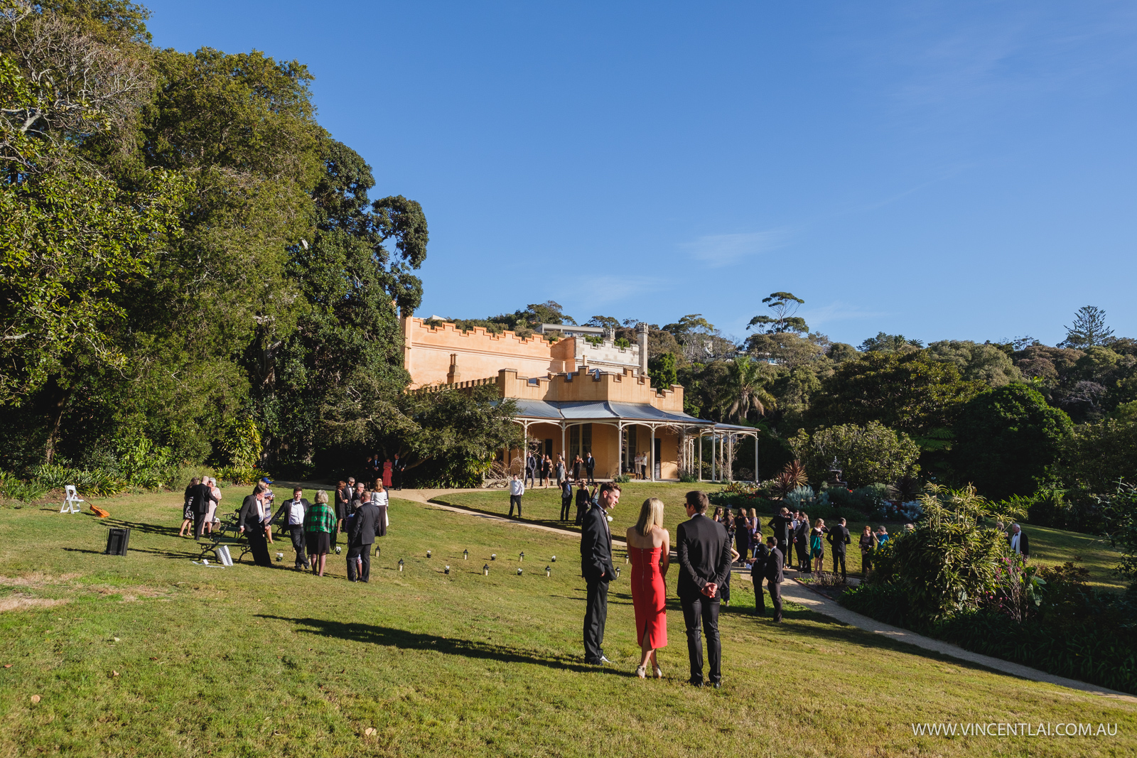 Wedding at Vaucluse House and Watsons Bay Boutique Hotel Reception