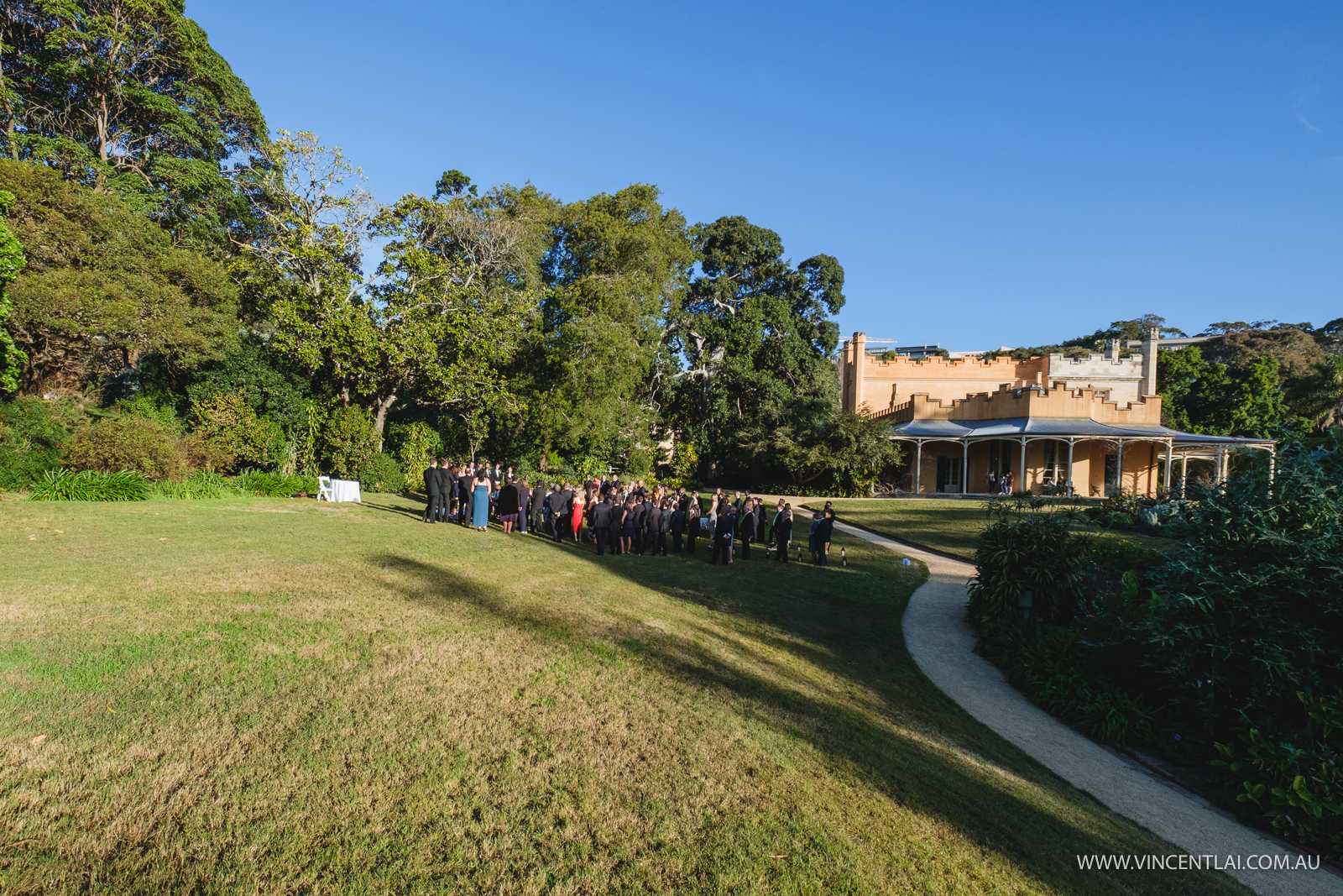 Vaucluse House Garden Wedding