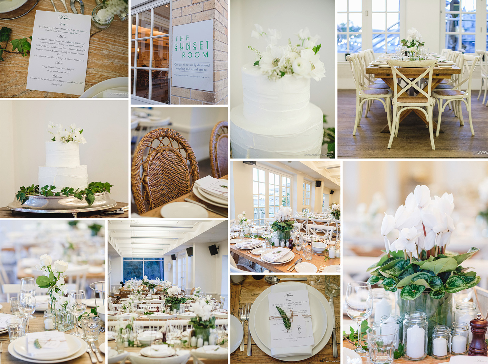 Watsons Bay Boutique Hotel Wedding Sunset Room