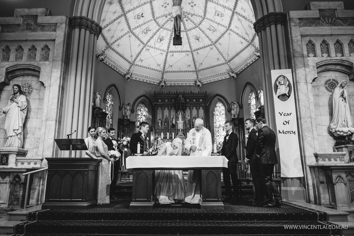 St Patrick's Church Wedding | Museum of Contemporary Art Wedding Reception