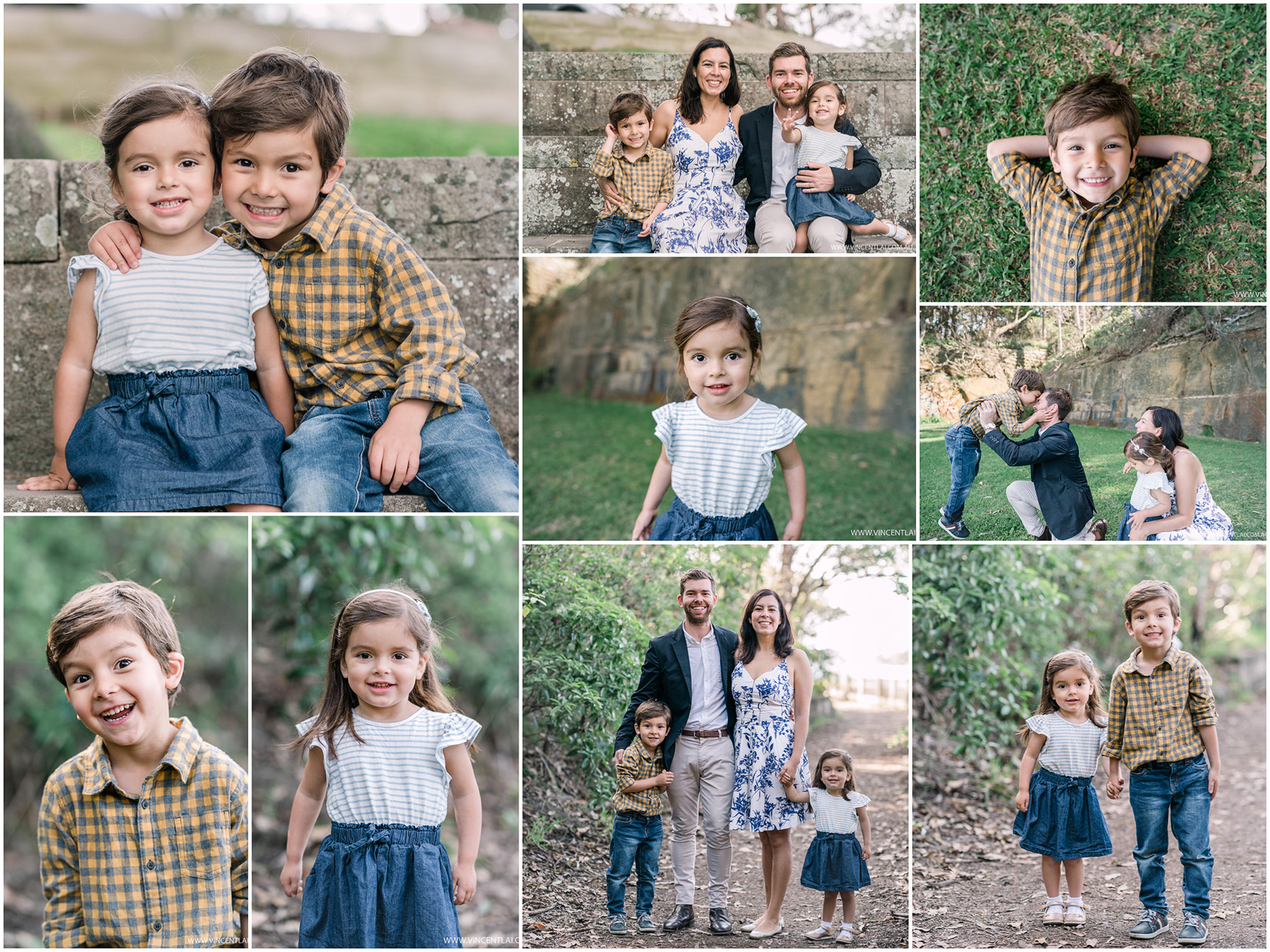 Family Portrait Session at Bradleys Head Amphitheatre Mosman
