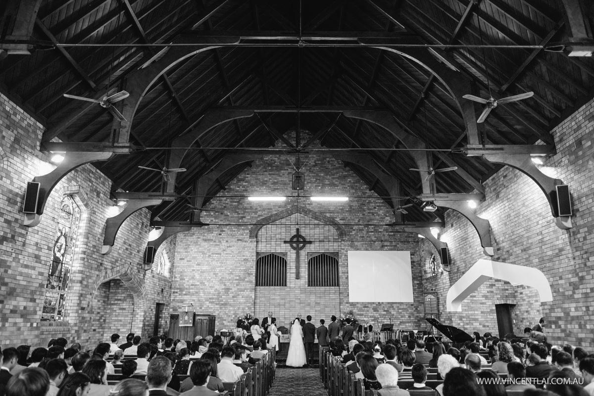 Wedding Hurstville Presbyterian Church