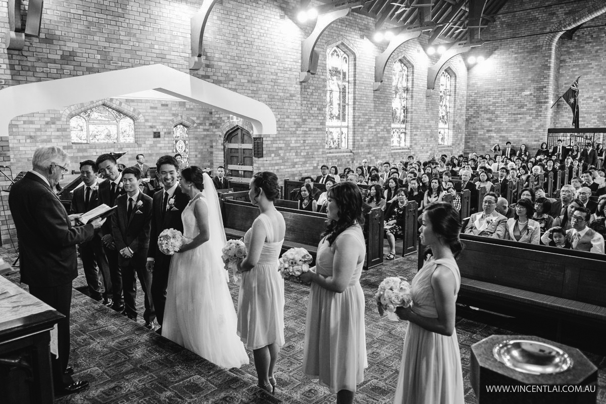St Giles Hurstville Presbyterian Church Wedding