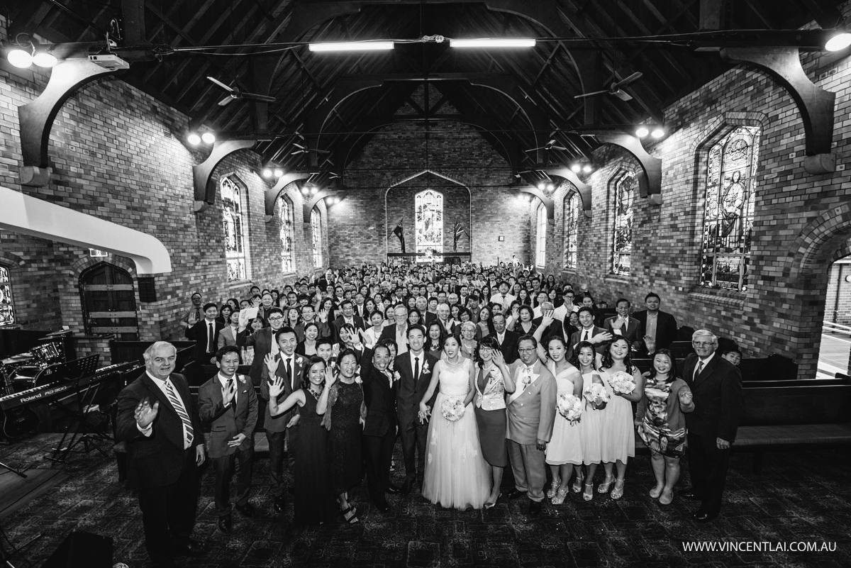 Wedding at St Giles Hurstville Presbyterian Church