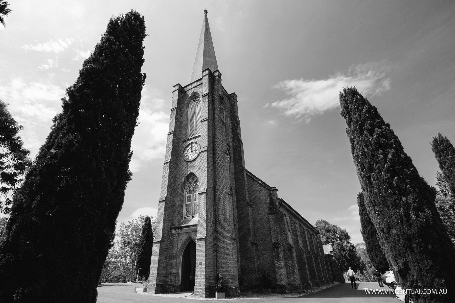 Wedding at St John's Anglican Church Camden