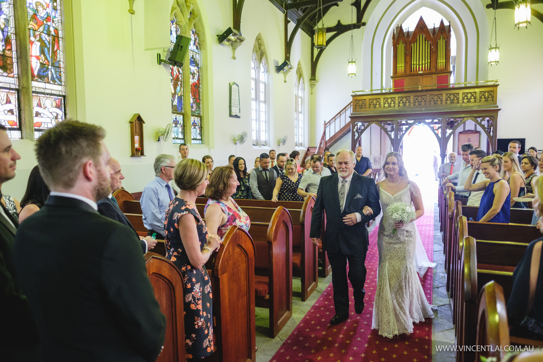 St John's Anglican Church Camden Wedding