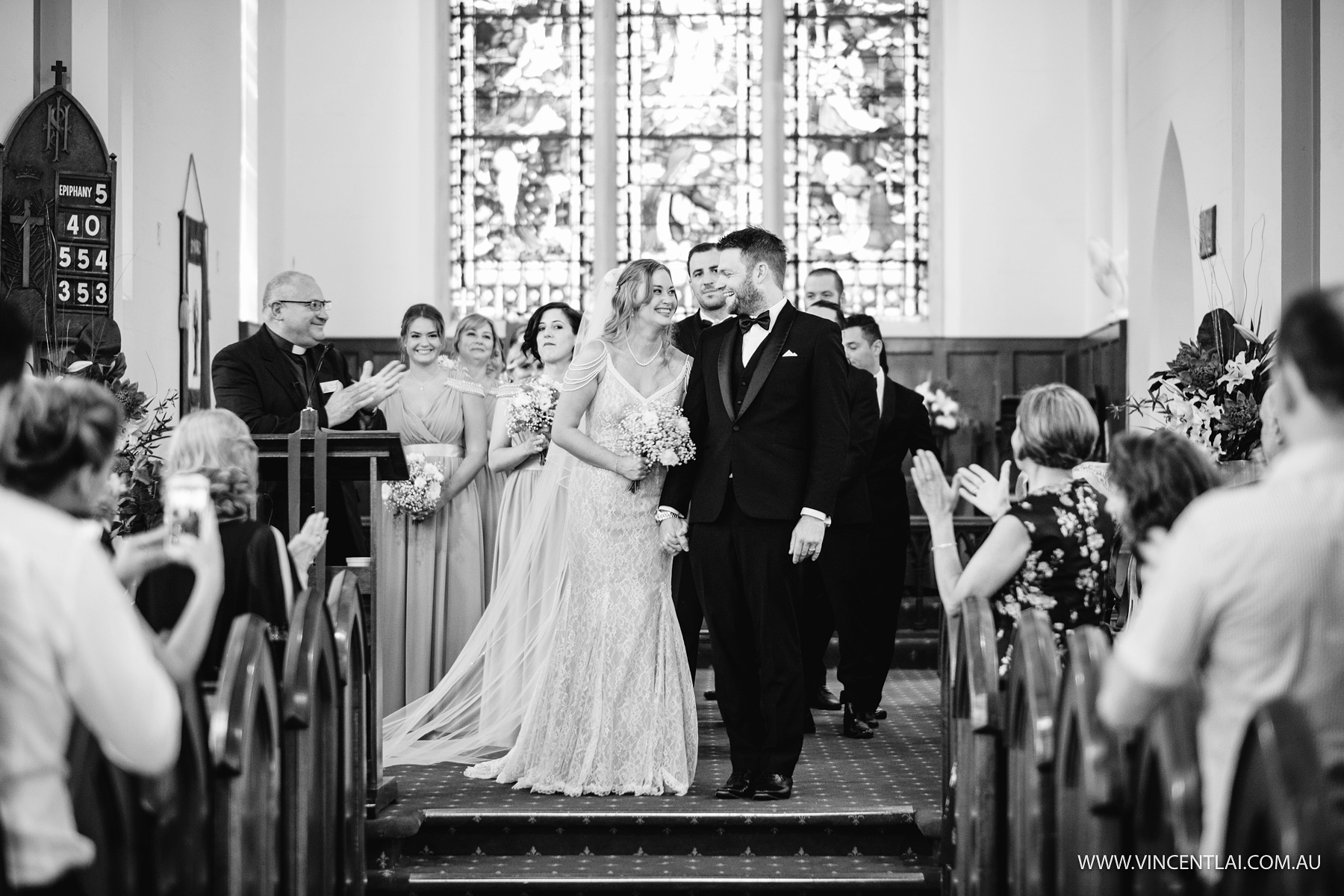 St John's Anglican Church Camden Wedding Photo