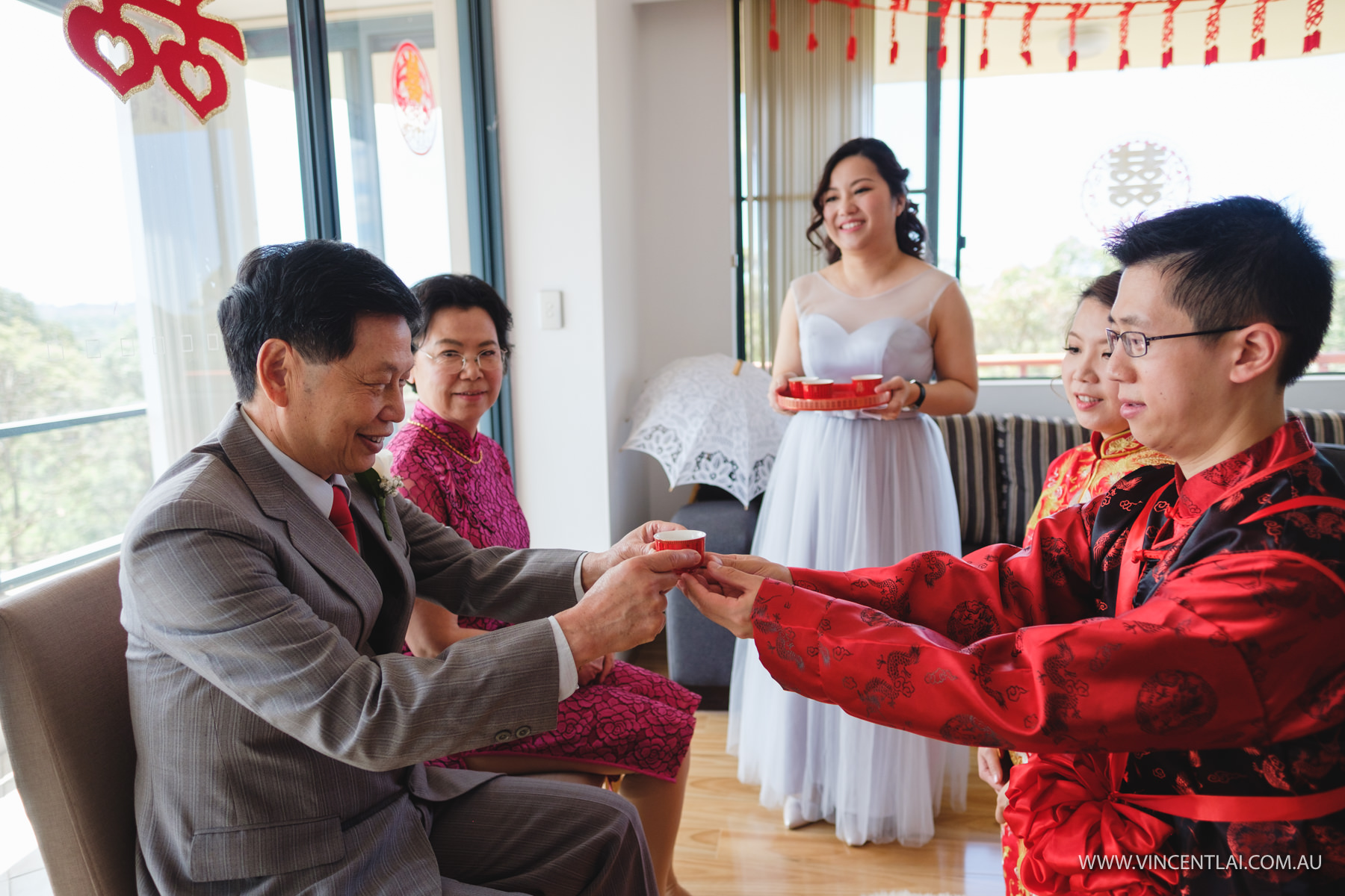 Sydney Wedding Tea Ceremony