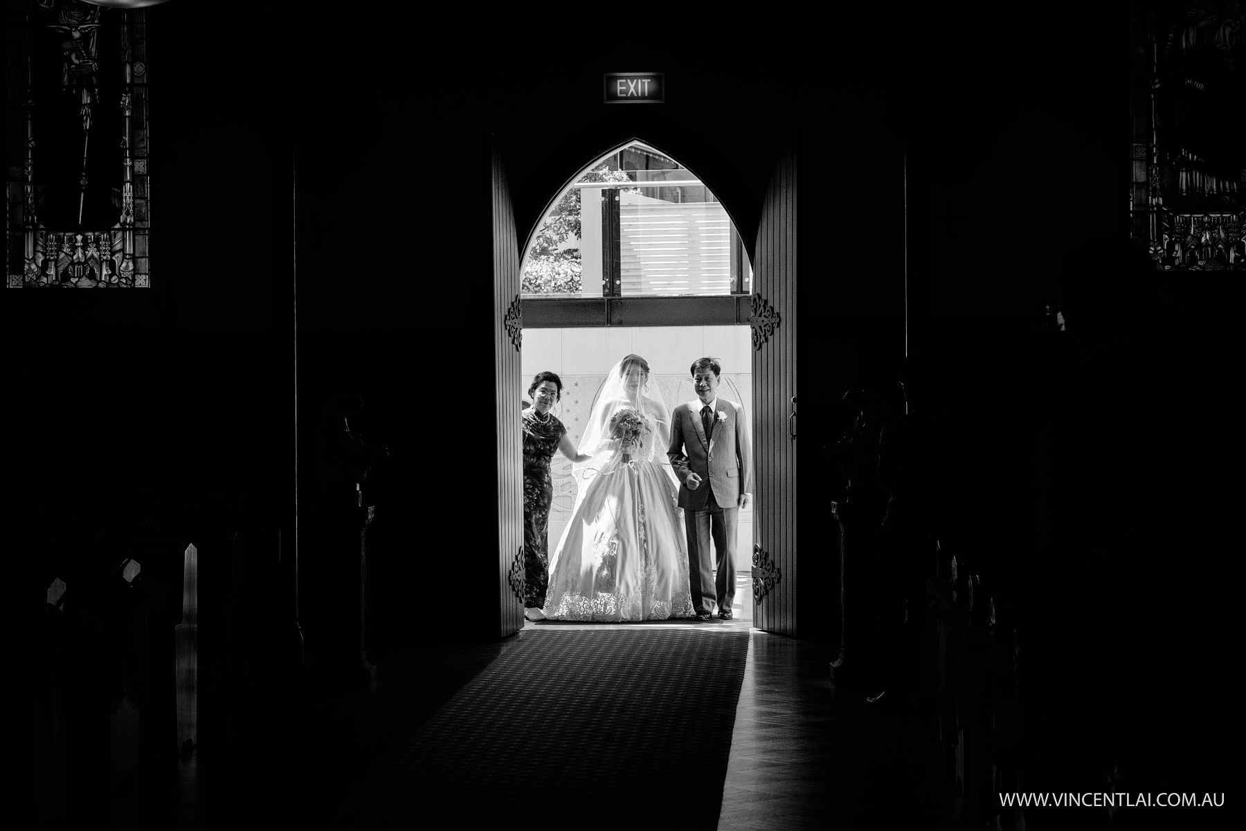 L'Aqua Wedding Reception and Monte Sant Angelo Chapel Ceremony